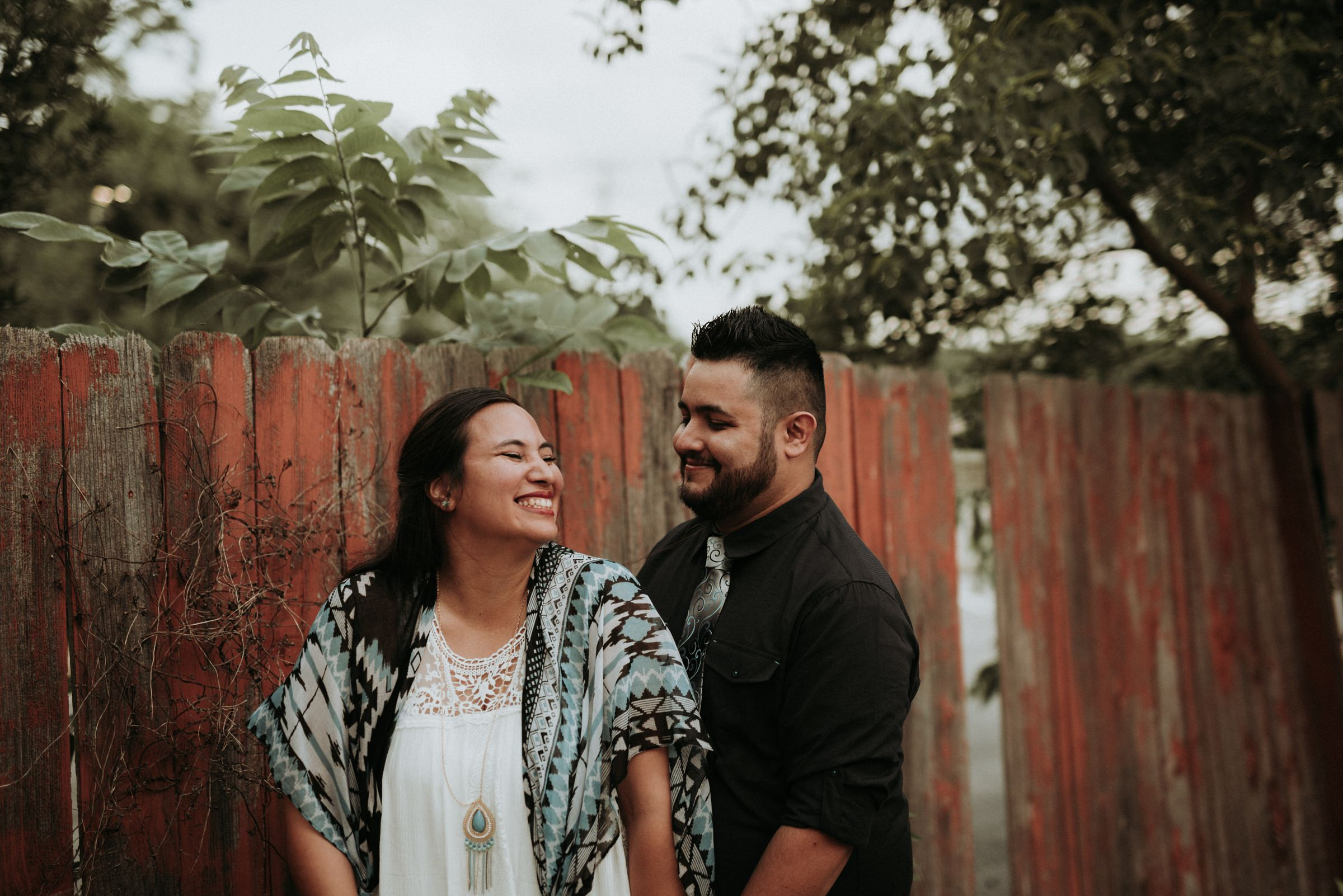 Downtown Round Rock Engagement Photography