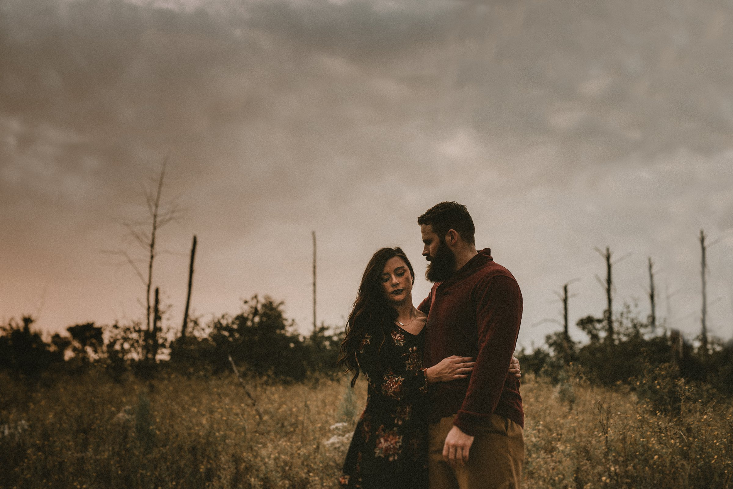 Texas Engagement at Bastrop State Park