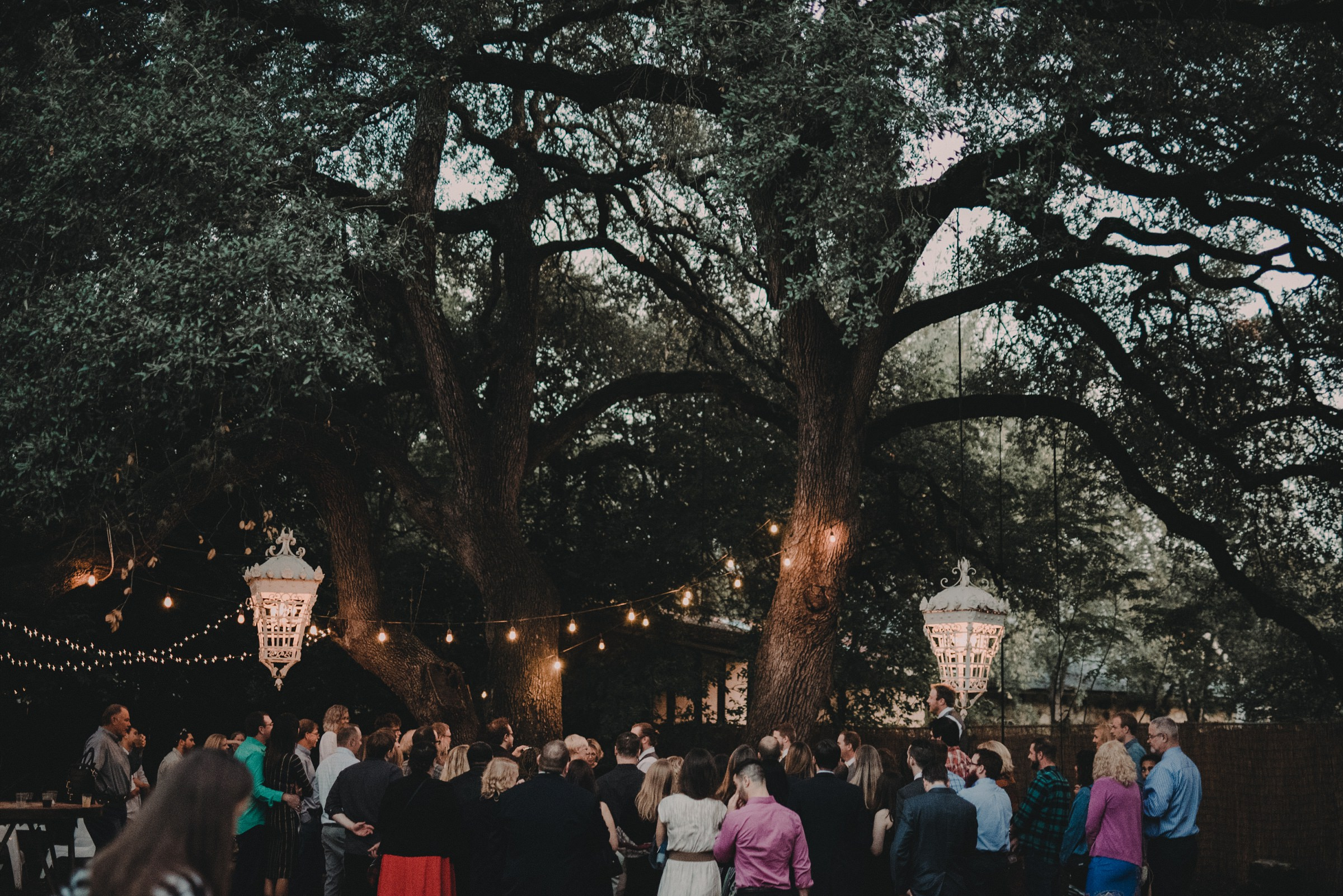 moonrise wedding ceremony
