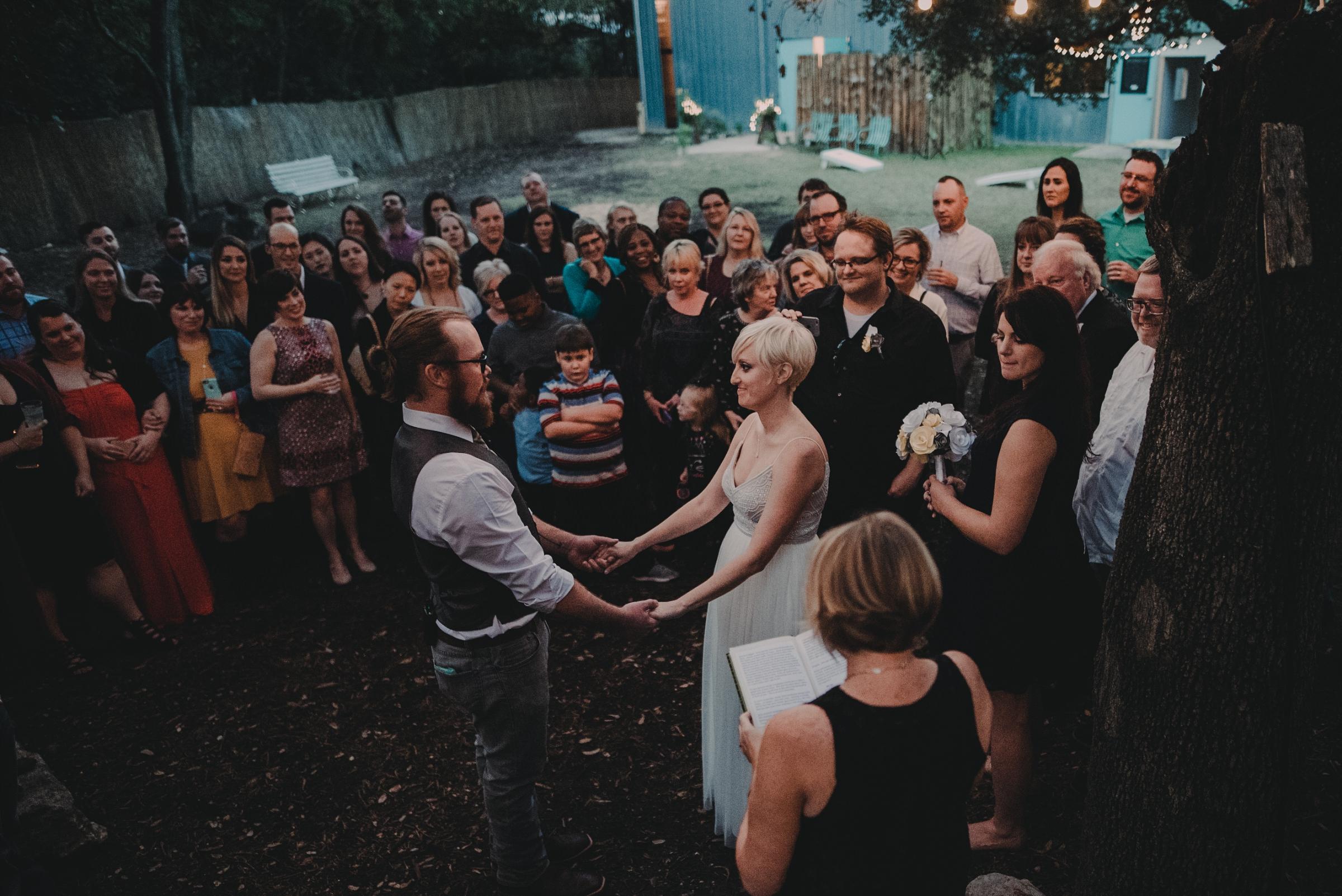 Vuka austin wedding ceremony