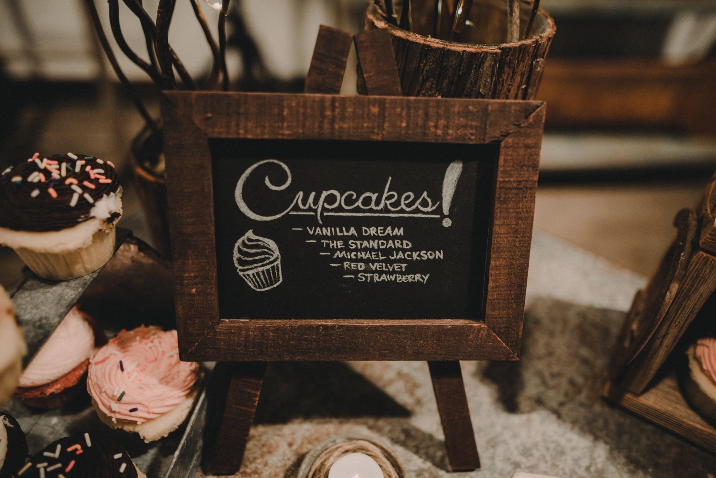 hey cupcake wedding