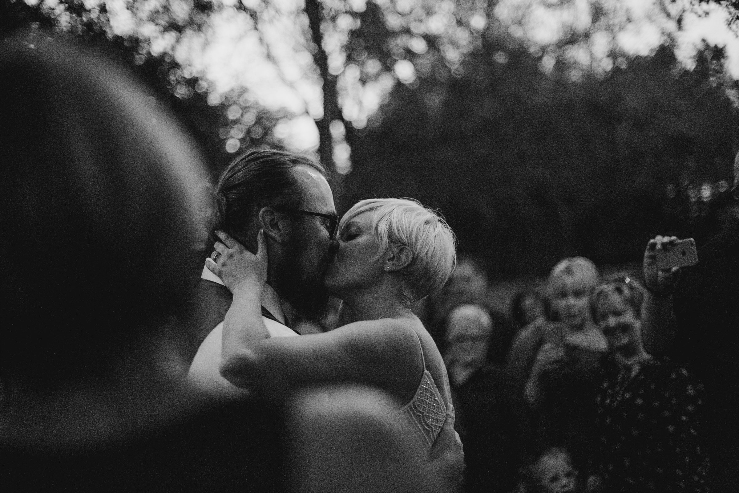 First Kiss From Donny Tidmore Photography
