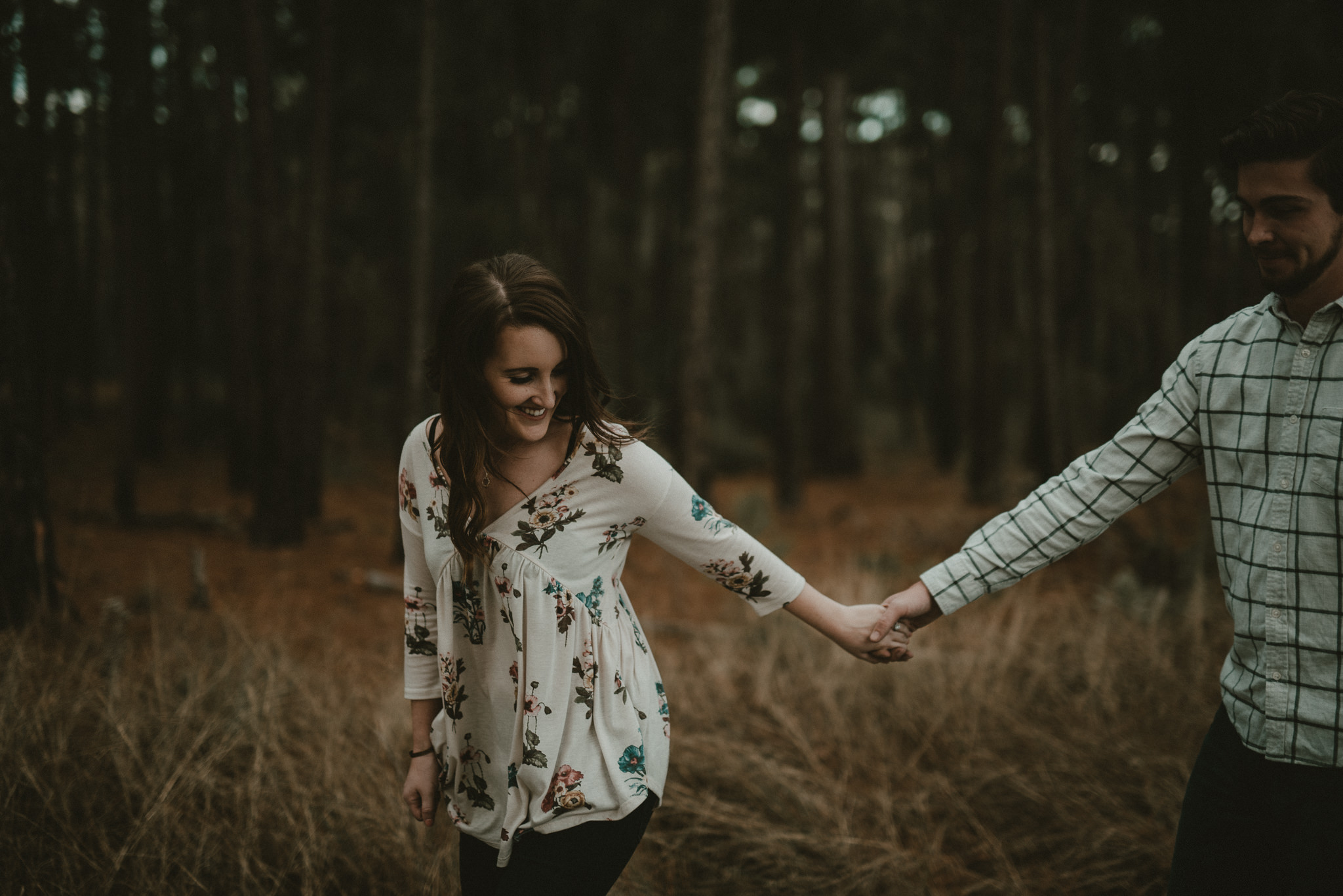 Engagement in the piney woods