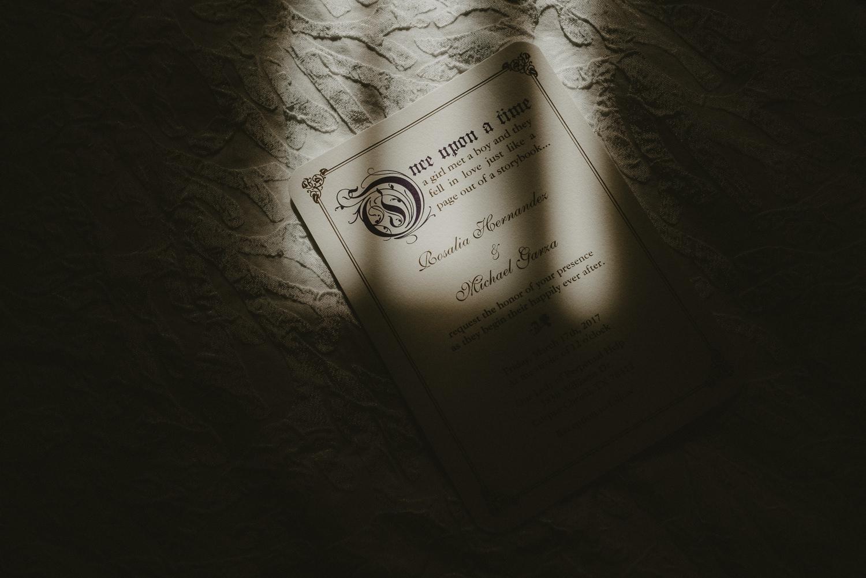 Fairy Tale Wedding Invitation