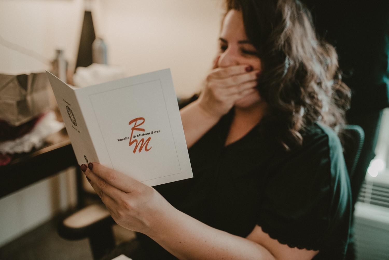 Wedding Gift Reaction