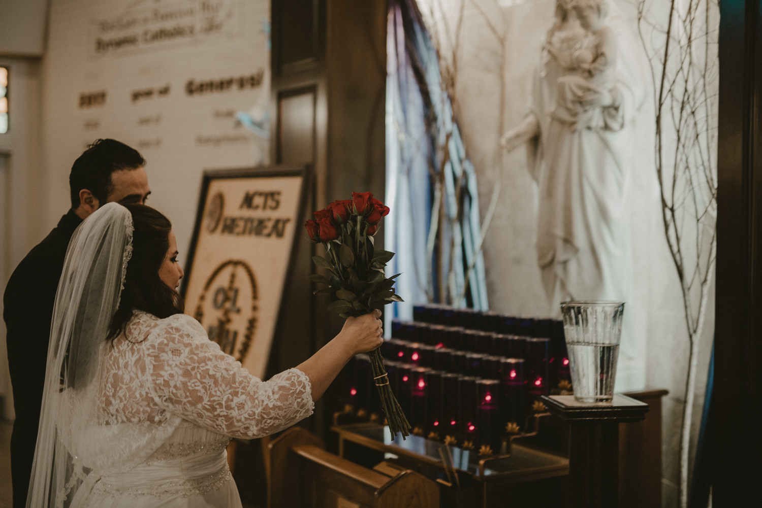 Our Lady of Perpetual Help Texas Wedding Ceremony