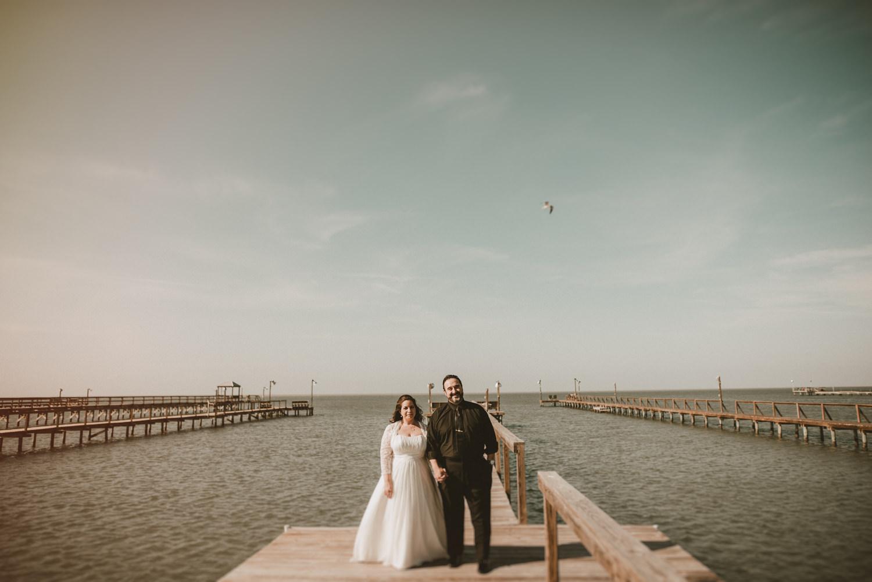 Wedding Portraits in Rockport Texas