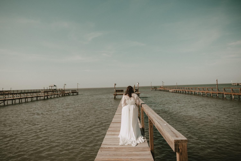 Beach Wedding Portriats