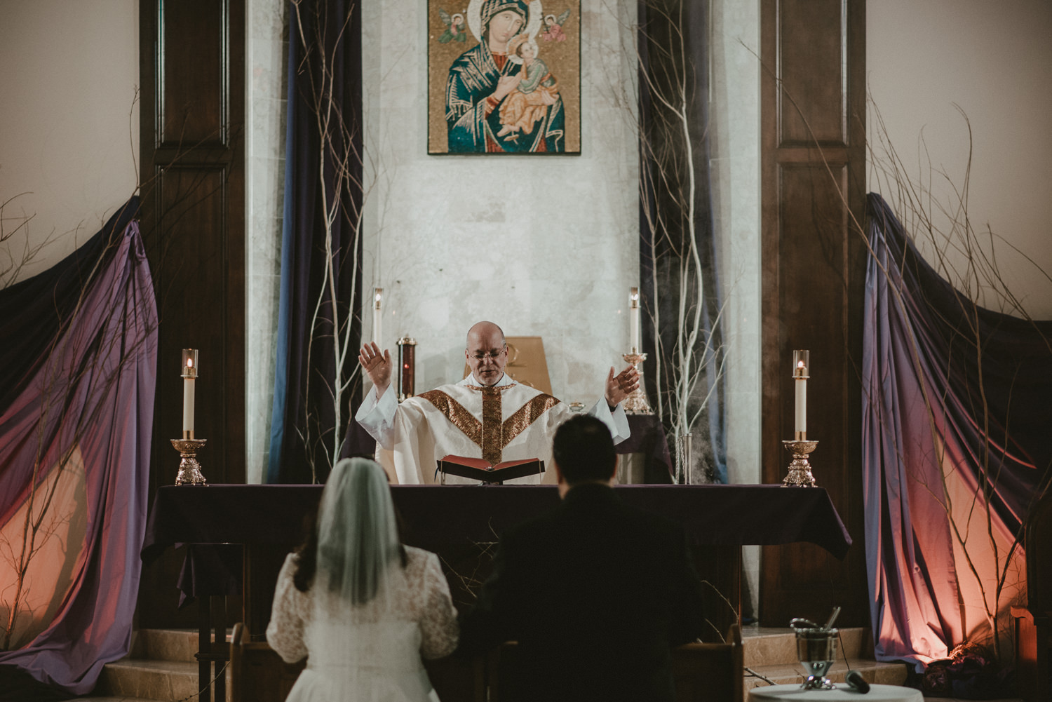 Our Lady of Perpetual Help Texas Wedding