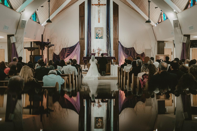 Wedding Ceremony Prism Photography