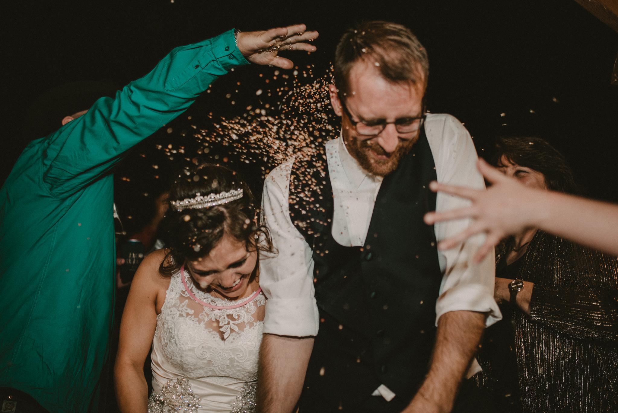 Zedler Mill Wedding Send Off