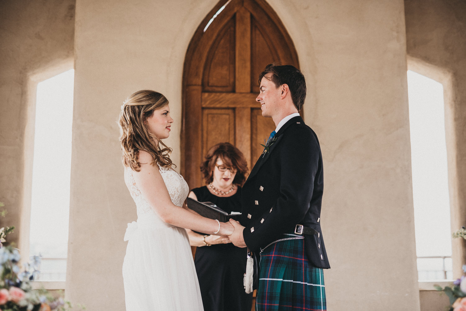 A Scottish Wedding at Chapel Dulcinea