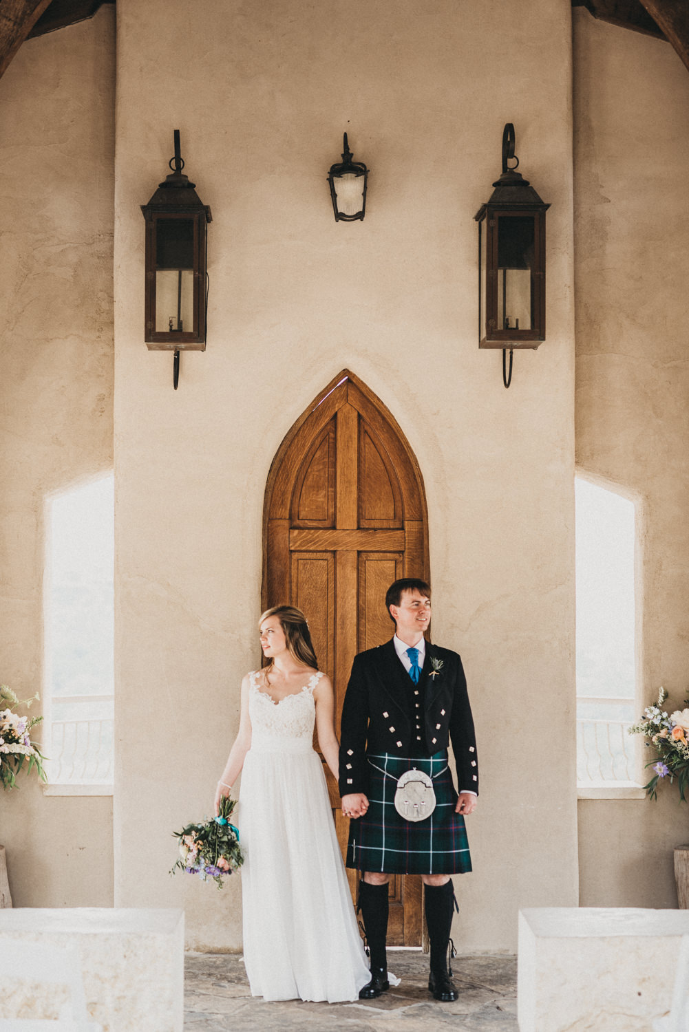 Wedding Portraits at Chapel Dulcinea