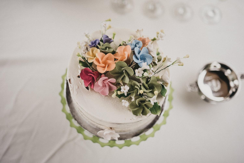 Mandola's Italian Market Wedding Cake