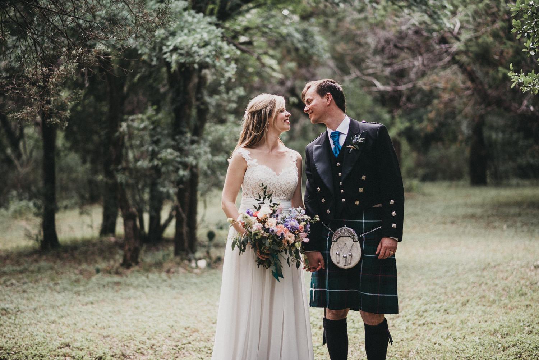 Scottish Wedding in Austin, TX