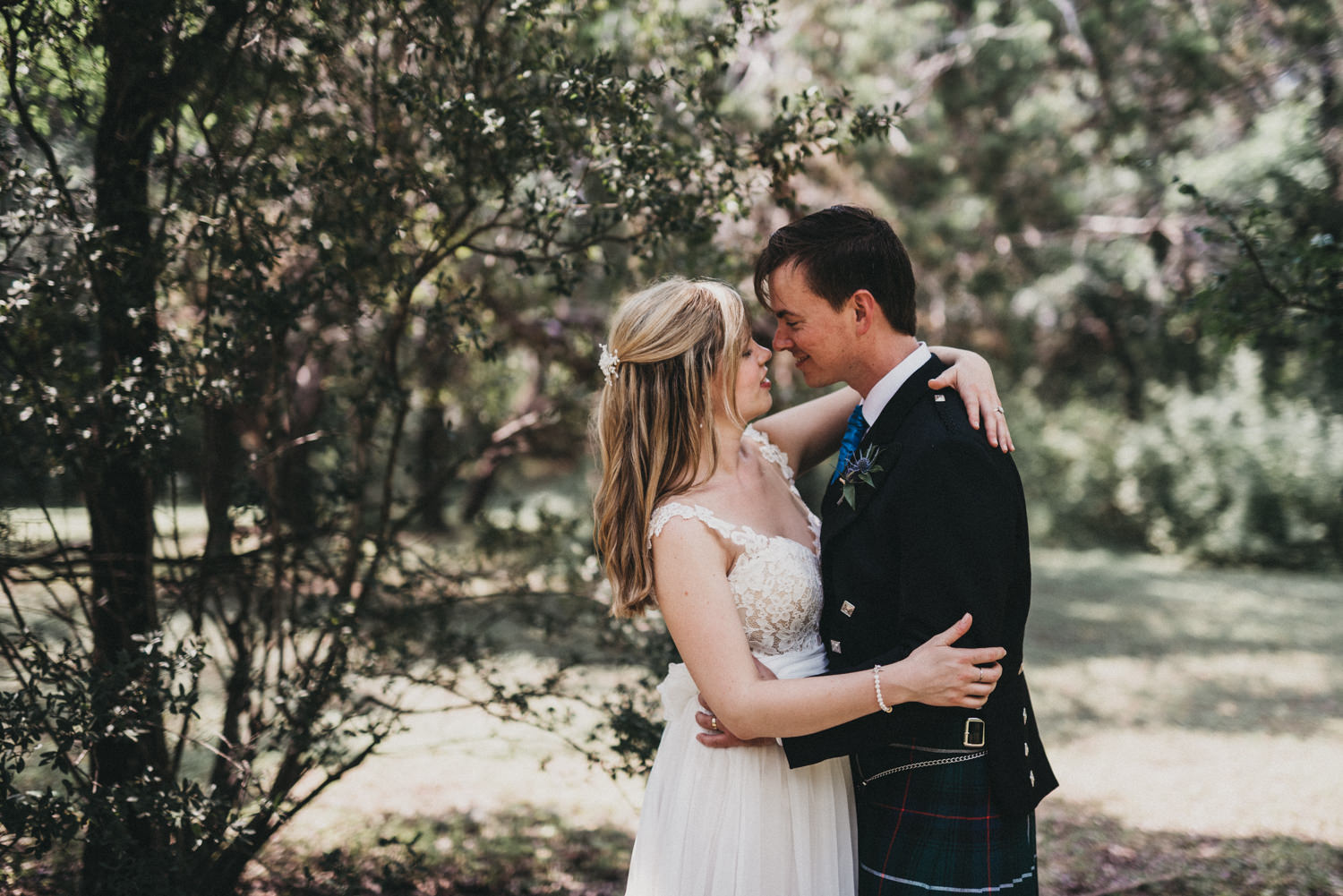 A Scottish wedding in Austin