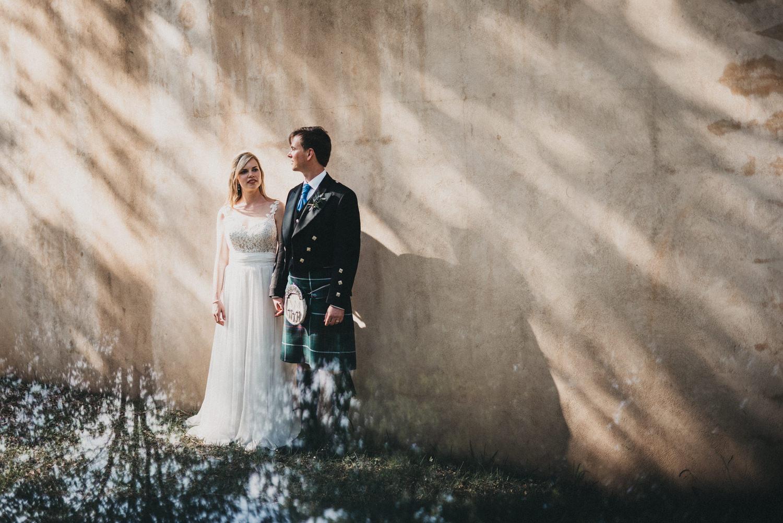 Moody Wedding Portraits