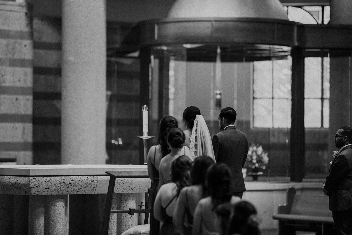 St Helen Catholic Houston Wedding Ceremony