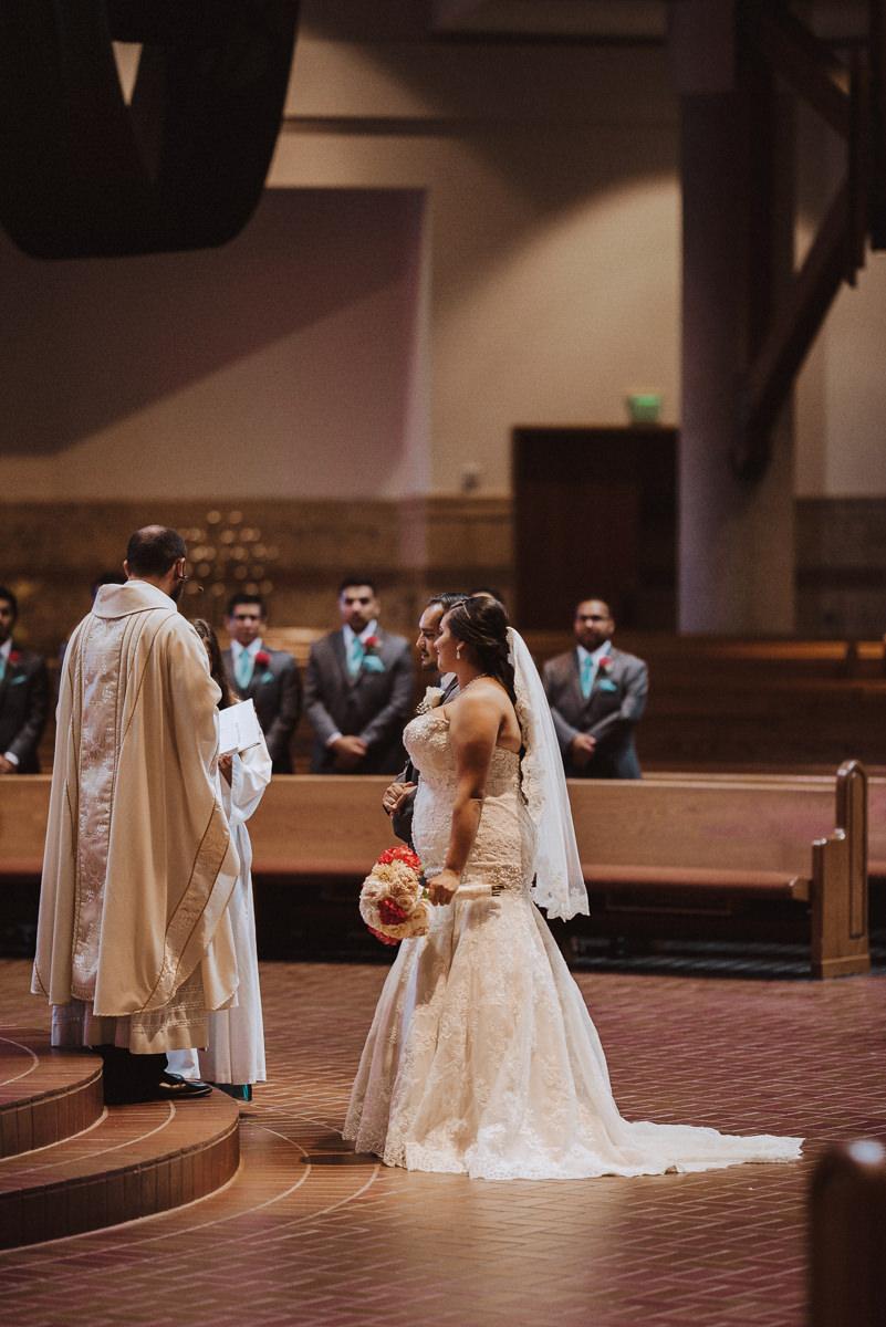 Catholic Wedding in Houston Texas