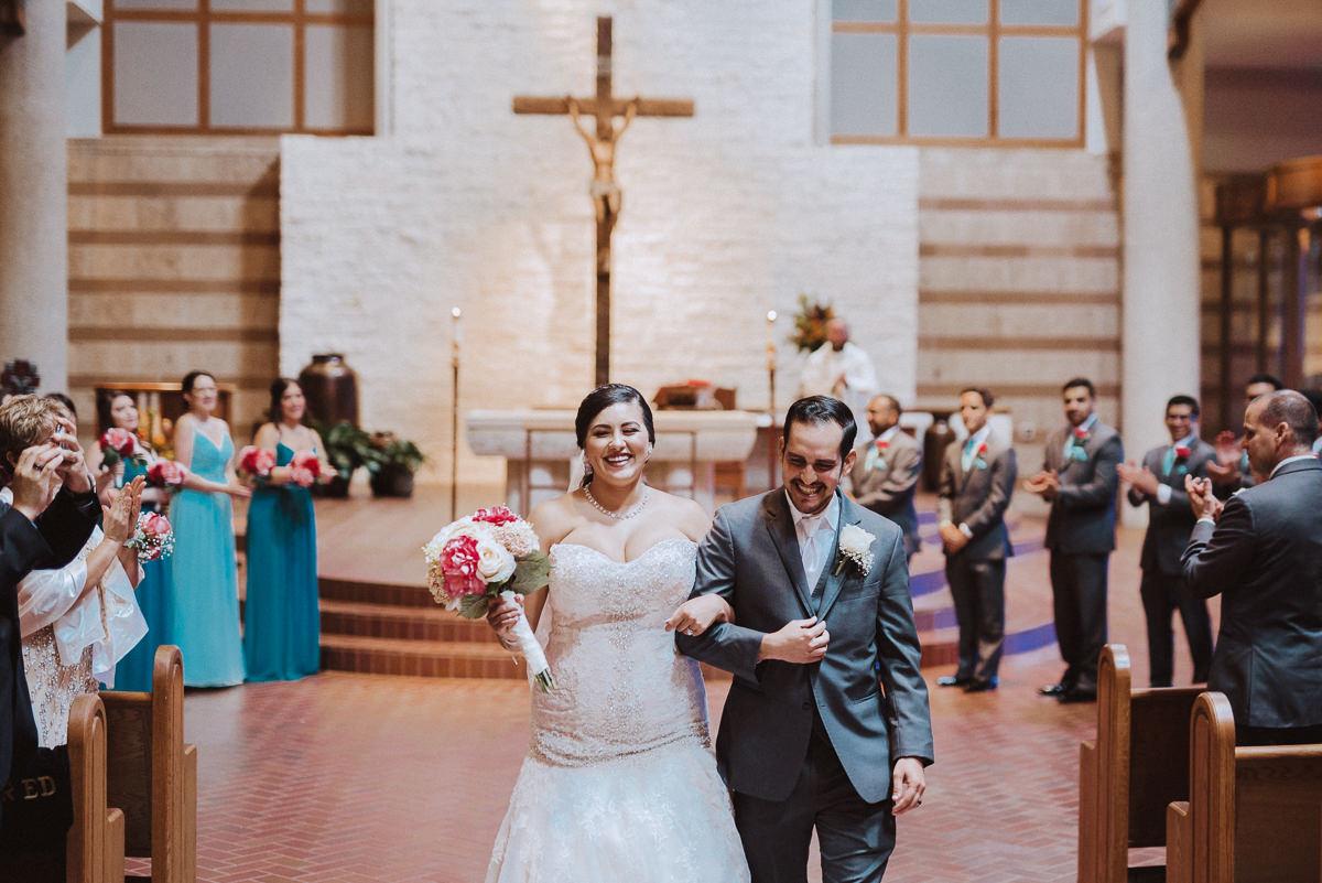 Houston Wedding Bride and Groom