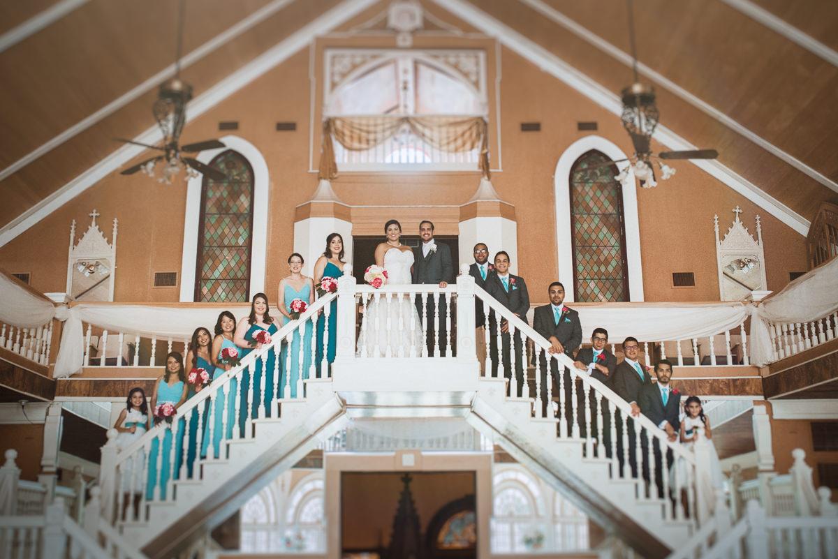 houston wedding party