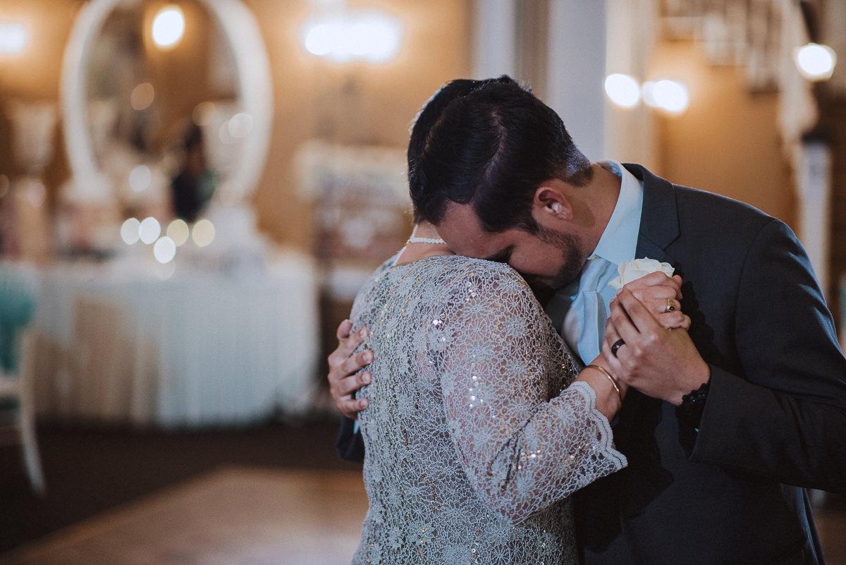 emotional groom mother dance