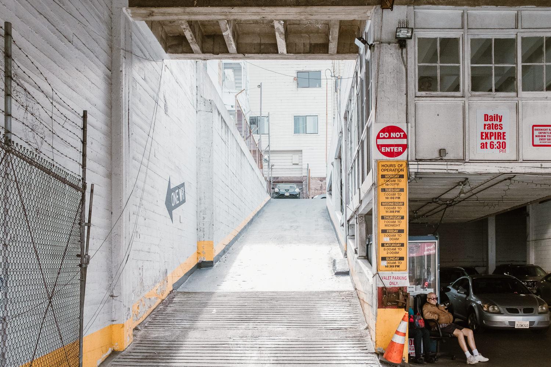 San Francisco Parking Garage