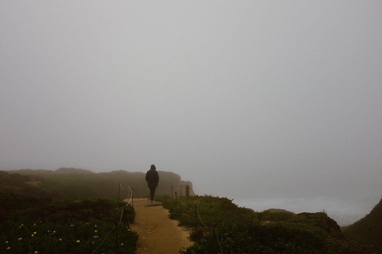 Big Sur Rainy Day