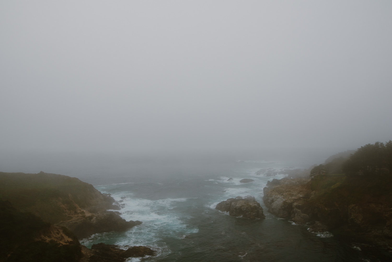 Big Sur in the rain