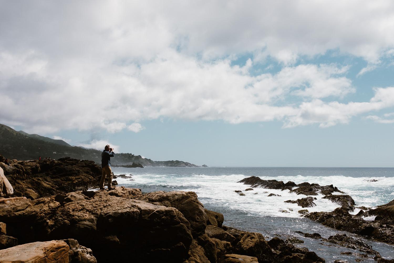 Point Lobos Bird Watcher