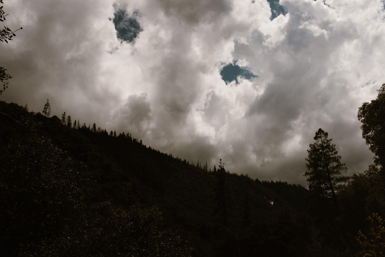 Yosemite Park Clouds