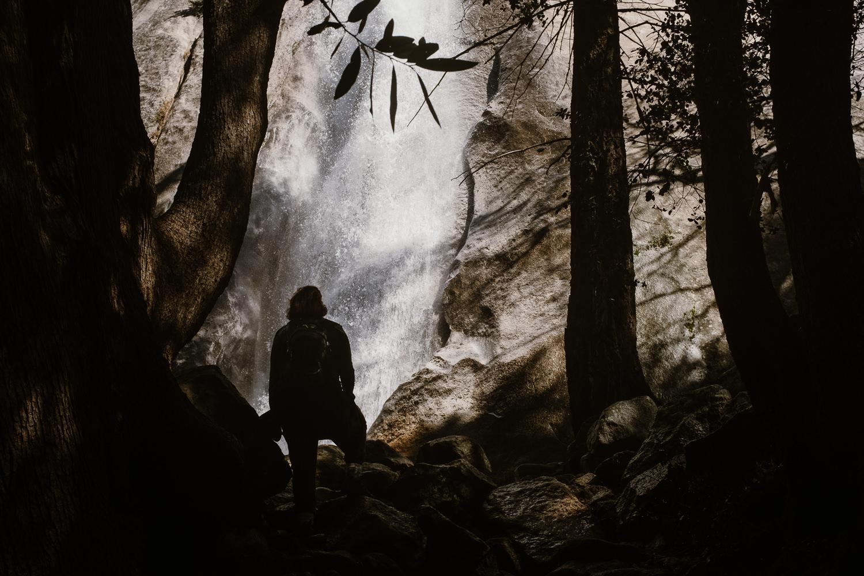 Yosemite Park Waterfall