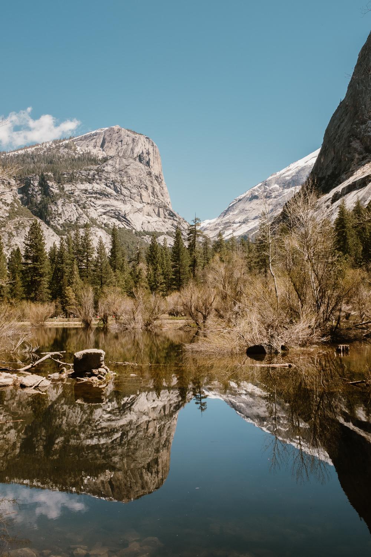 Yosemite Park Mirror Lake