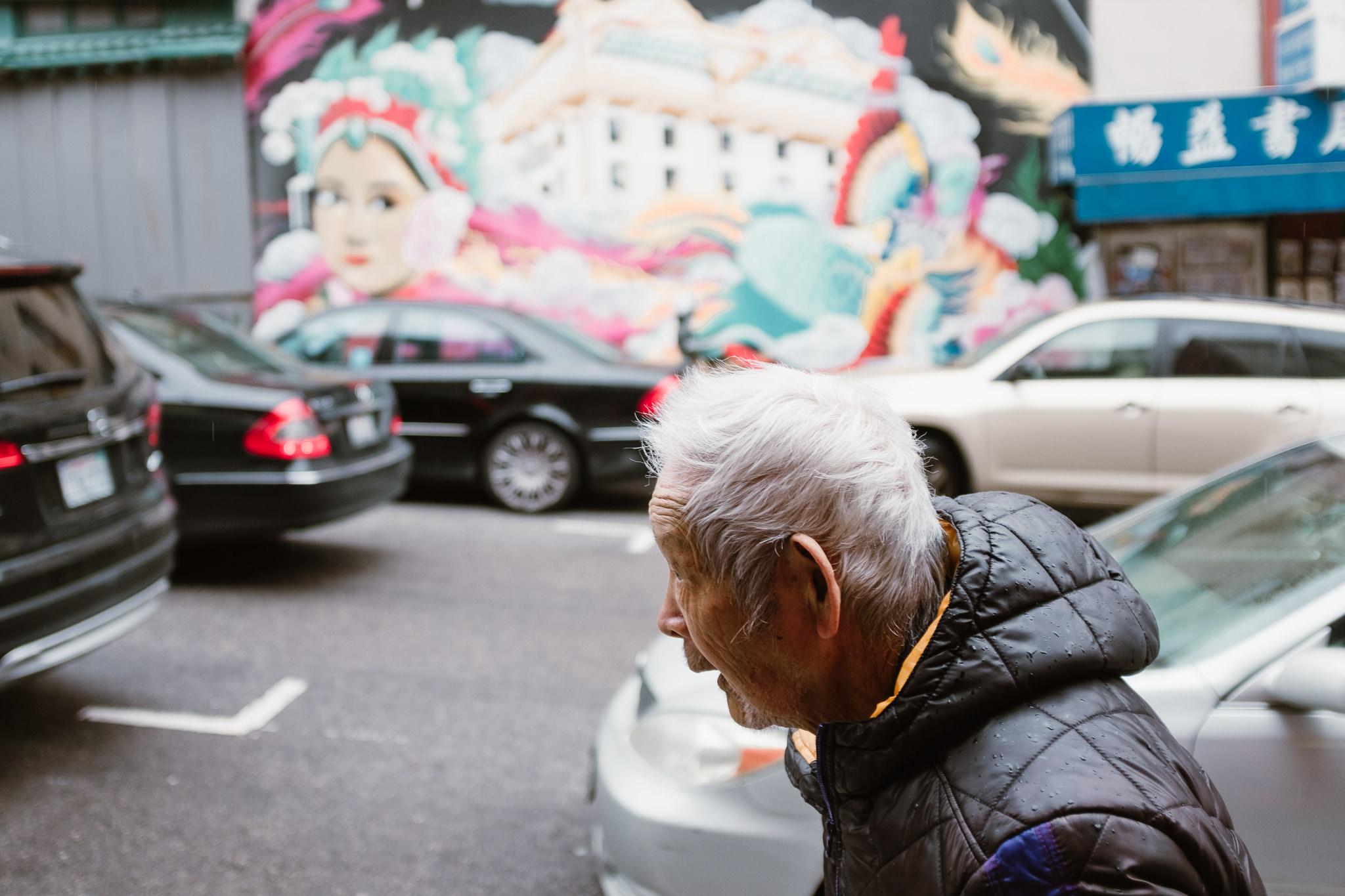 chinatown street photography x100f