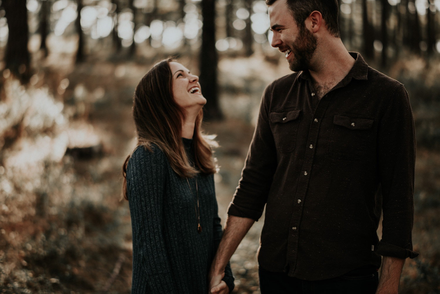 Couple Makes Each Other Laugh