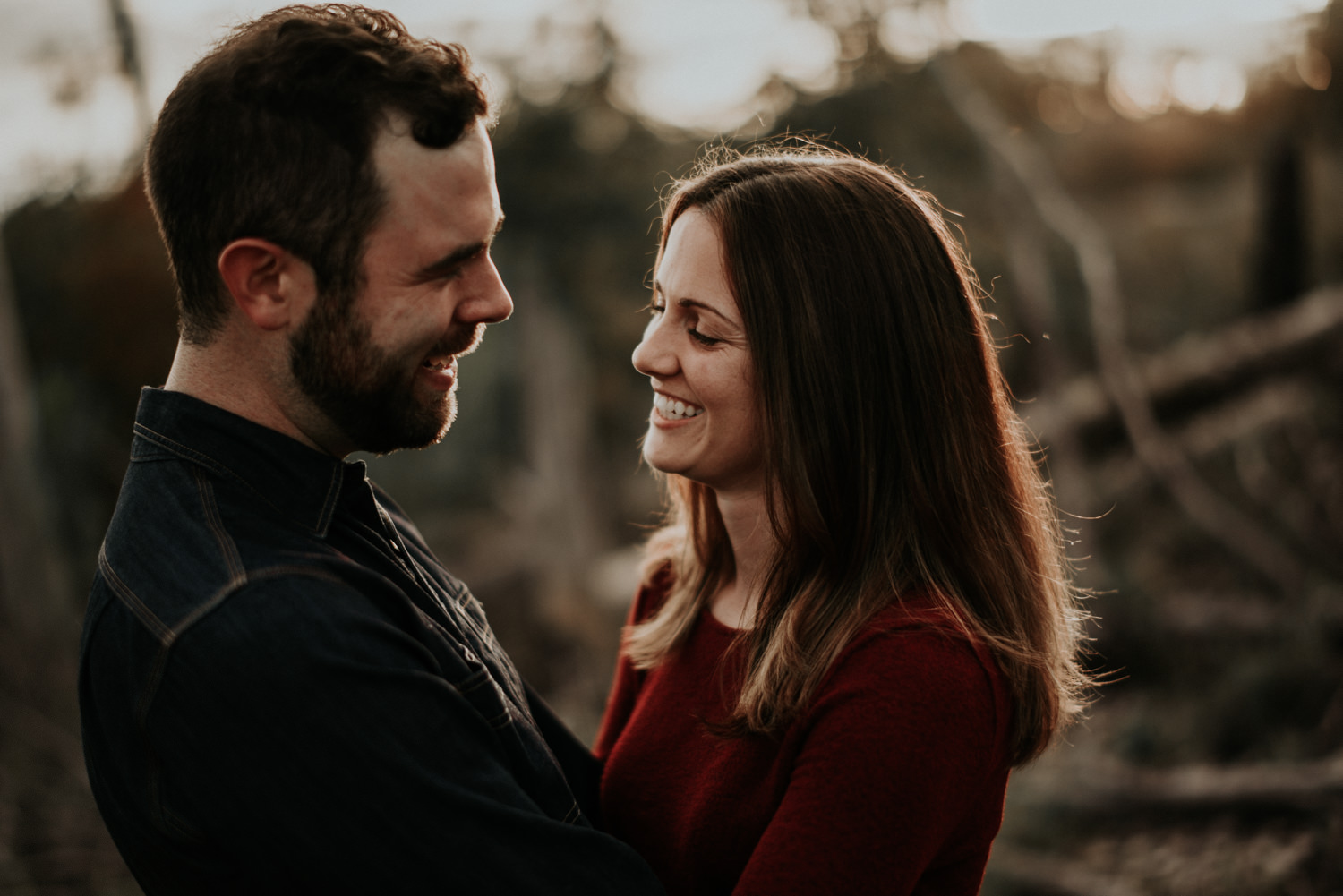 Engagement Photos with Texas Sunset