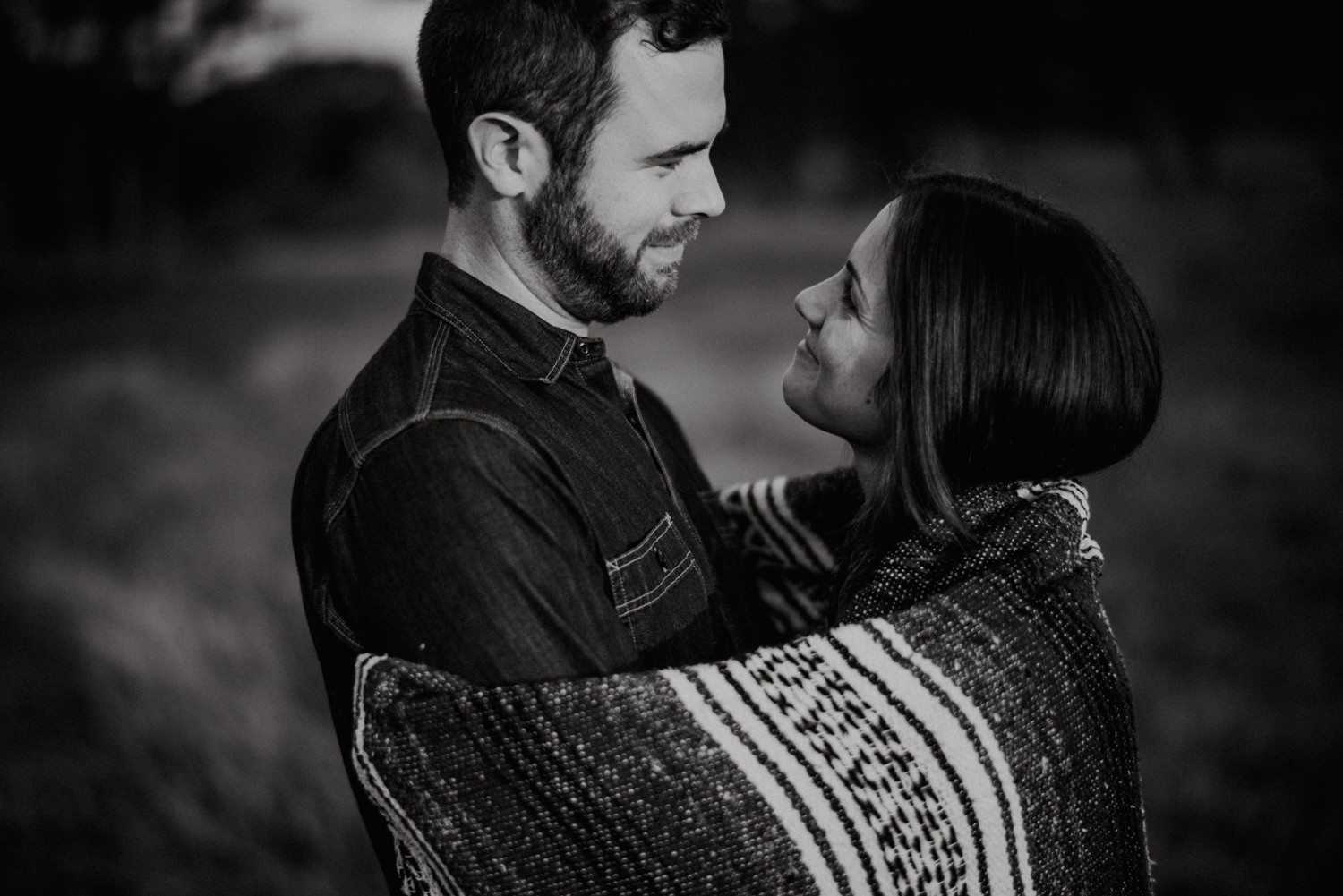 Engagement Photography in Texas Piney Woods