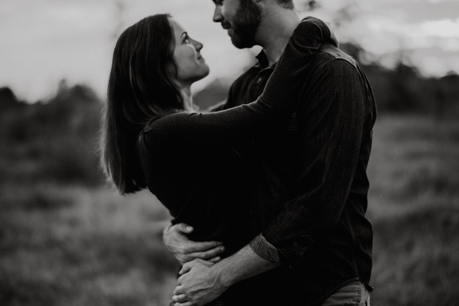 Moody Engagement Photography