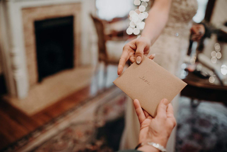 card to groom on wedding day