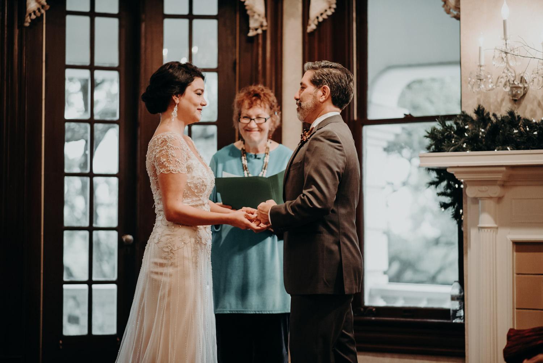 austin texas caswell house christmas wedding