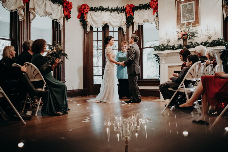wedding ceremony prism photo