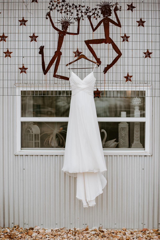 Wedding Dress at TerrAdorna in austin, Tx