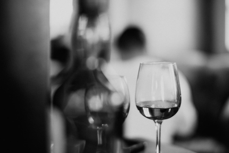 Lagavulin scotch glass at wedding