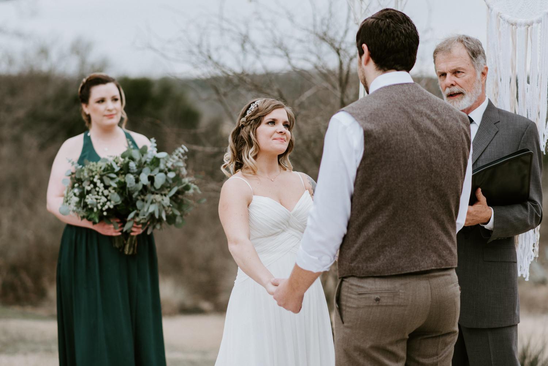 Austin Texas wedding ceremony