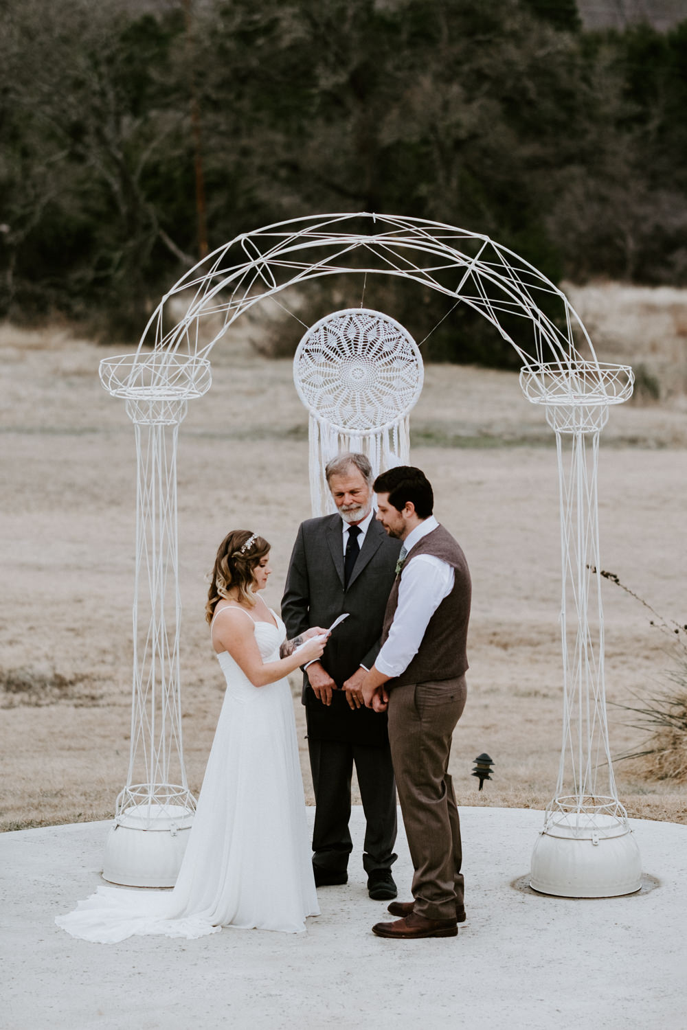 Wedding ceremony photography from Donny Tidmore