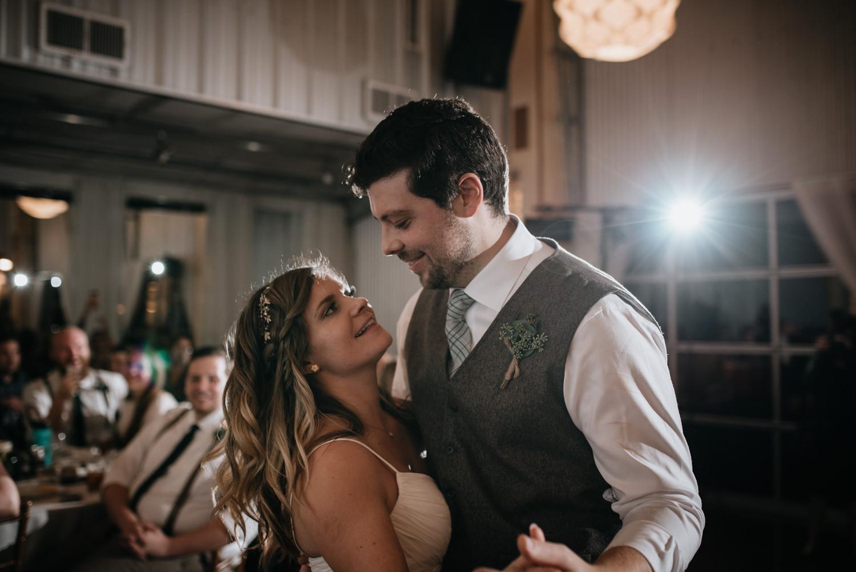 first dance at TerrAdorna wedding in austin texas