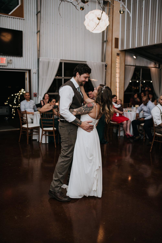 wedding reception at TerrAdorna