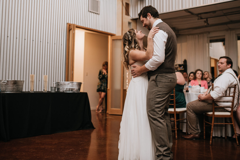 TerrAdorna wedding first dance
