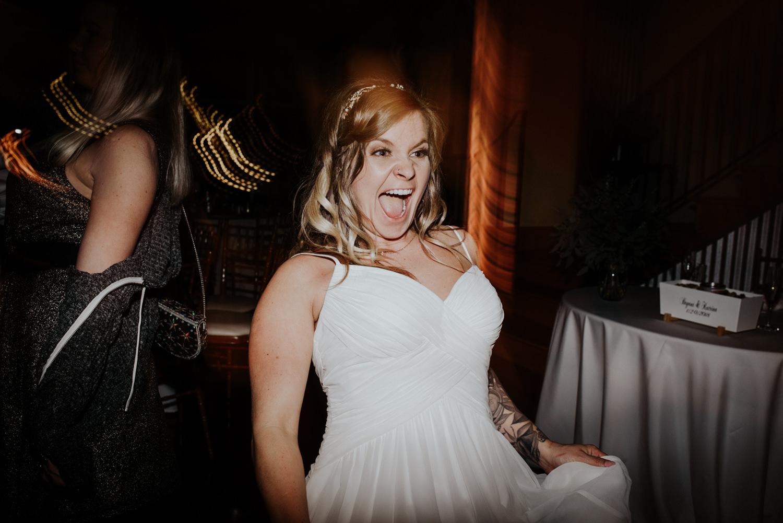 wedding dance party at TerrAdorna