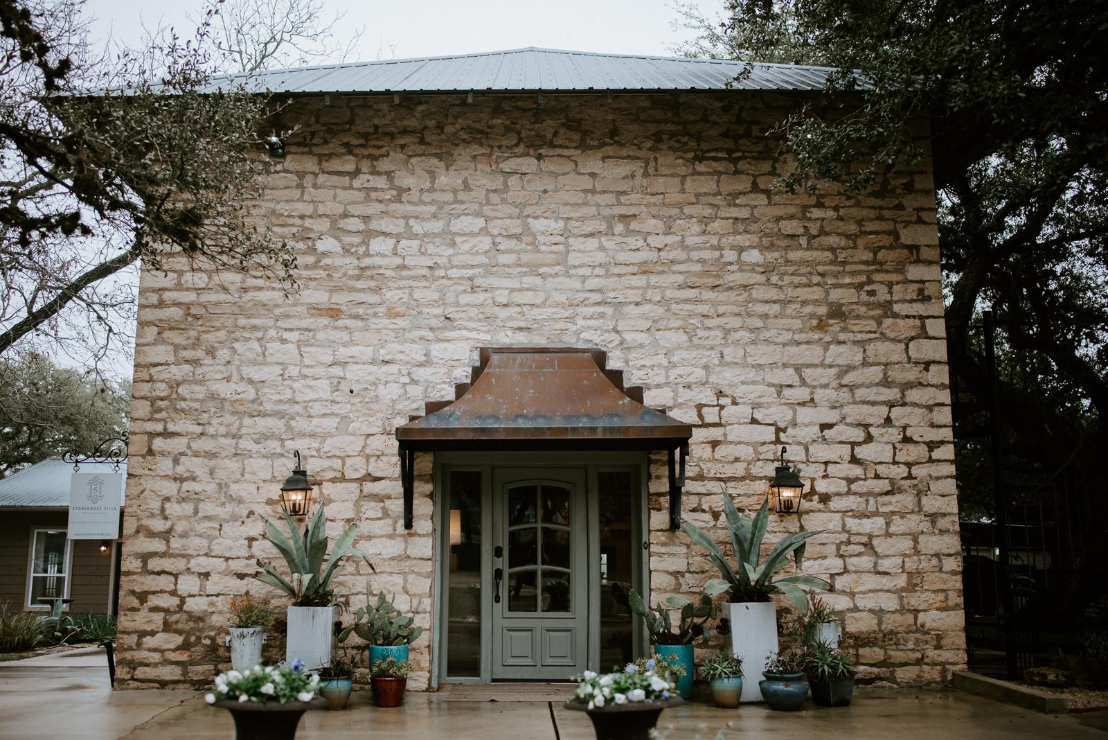 Stonehouse villa texas wedding venue